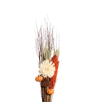 Tall Harvest Bouquet - Orange