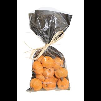 Pumpkins in Bag (12 pcs) - Orange