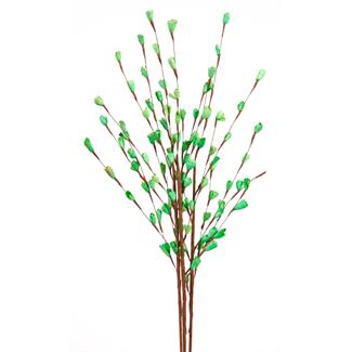 Balsa Garden Rose Bud (3 stem) Green