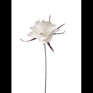 Foam Pandula Flower (24 inch) - White
