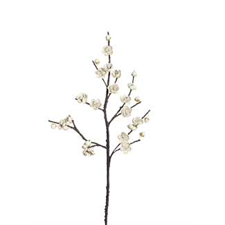 "Wintersweet Branch (40"") White"