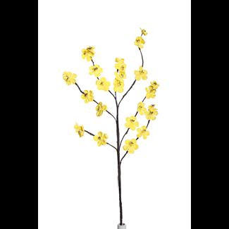 Apple Blossom Branch (2 stem) - Yellow