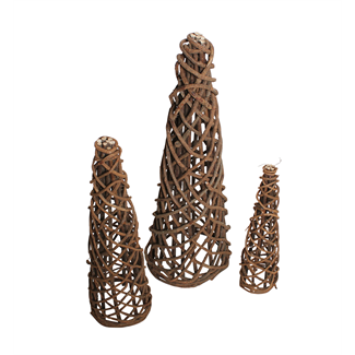 Root Trees (Set of 3) Natural