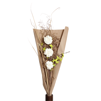 Vintage - Green Blossom Sola Bouquet