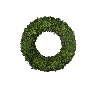 Wreath - boxwood - 60 x 60 x 9 cm