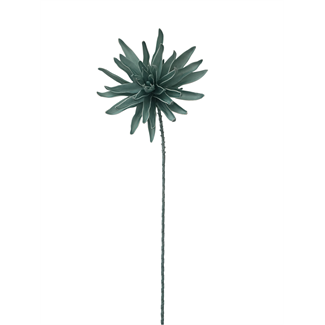 Foam Dahlia Flower (40 inch) - Aqua
