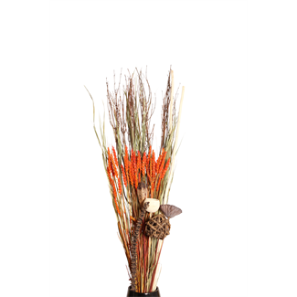 Root Bouquet - Natural/Orange