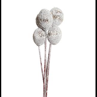 Mintola Balls (6 stem) Snow