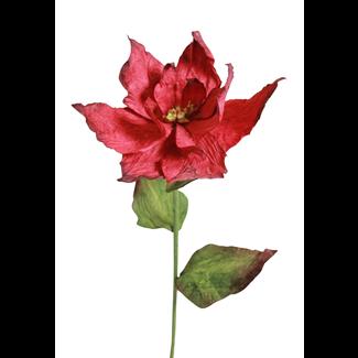 Paper Poinsettia - Red