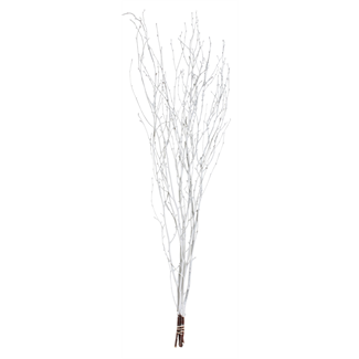 "Twinkly Twigs 48"" (5-7 stem) White"