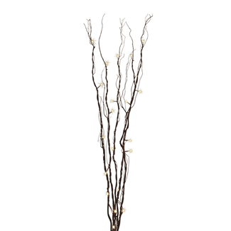 Branch light - 1.2 m -  Mahogany w/ warm LED