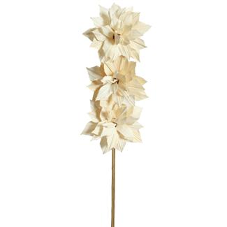 Dahlia Flower (3 stem) White