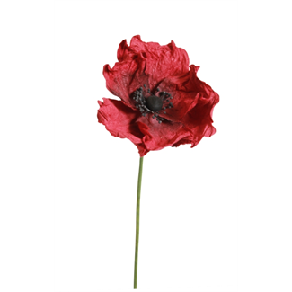 Paper Poppies - Red