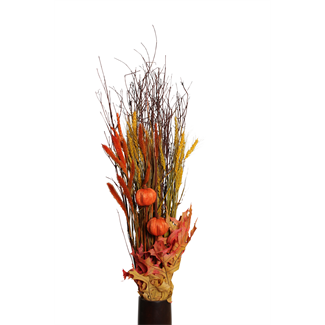 fall harvest bouquet- yellow