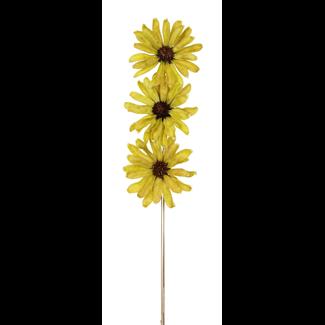 Daisy Flower (3 stem) Green