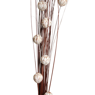 "Sola Chips Balls 36"" - Natural/Brown"