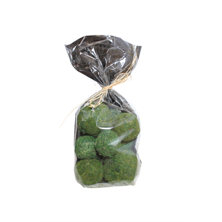 Moss Balls Assorted Sizes in Bag
