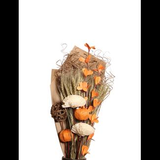 Harvest Bouquet - Natural & Orange