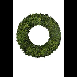 Wreath - boxwood - 60 x 60 x 9 cm
