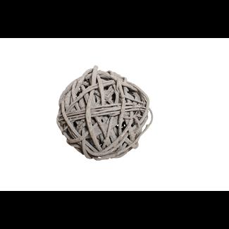 """Root Sphere (8"""") Grey Wash"""