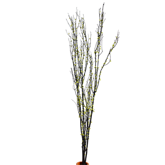 "Twigs 36"" (2-3 stem)  green berried branches"