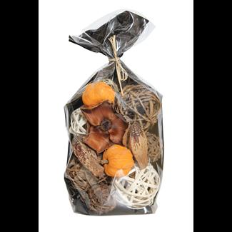 Fall Bowl Filler - Orange and Natural