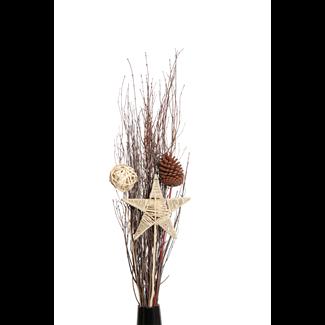 Holiday Urn Kit- kamboi, star, natural cone