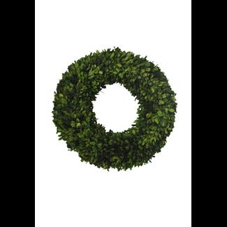 Wreath - boxwood - 46 x 46 x 9 cm