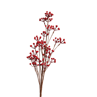 Berry Branch (Small Berry Spray) Red