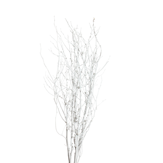 Berried Branches- white with white mixed berries