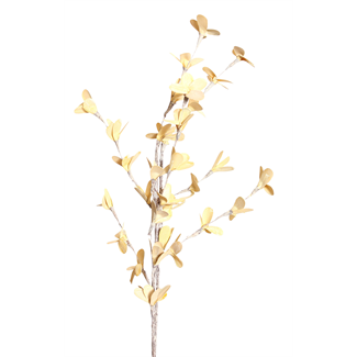 Blossom Branches (2 stem) White Washed Yellow