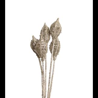 Lantern (6 stem) Champagne Glitter