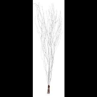 "Twinkly Twigs 48"" (5-7 stem) White"