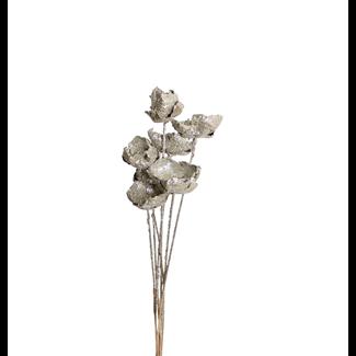 Palm Caps (6 stem) Champagne Glitter