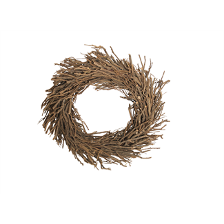 "Root Wreath (24"" with hole) Natural"