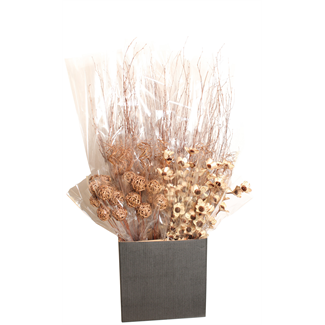Displayer - Copper Wash Assorted Botanicals (50 pk)