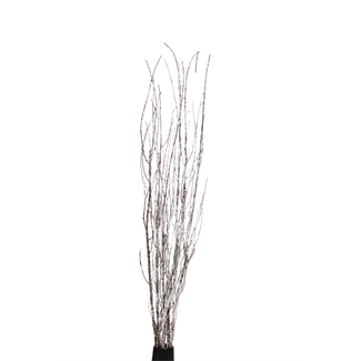 "Twinkly Twigs 48"" (5-7 stem) Snow"