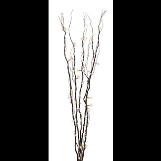Branch light - 1.2 m -  Mahogany w/ warm LED