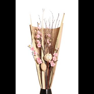 Vintage - Wintersweet Bouquet Pink