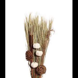 Harvest Bouquet - Natural & White