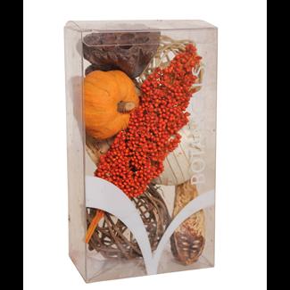 Medium Fall Boxed Bowl Filler - Orange with Milo