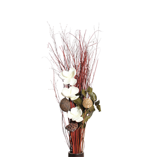 Three Magnolia Flower Bouquet